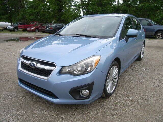 2012 Subaru Impreza for sale at HALL OF FAME MOTORS in Rittman OH
