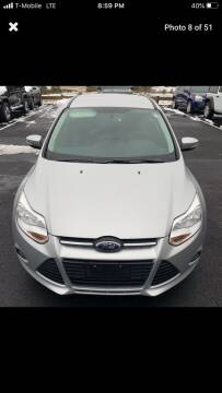 2013 Ford Focus for sale at Worldwide Auto Sales in Fall River MA