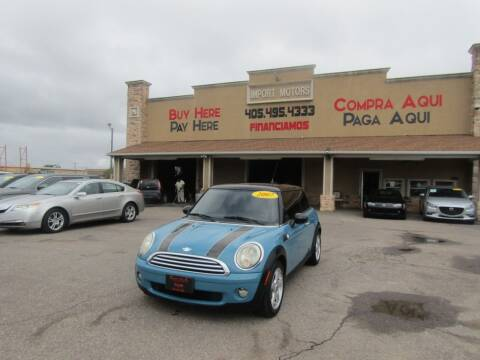 2007 MINI Cooper for sale at Import Motors in Bethany OK