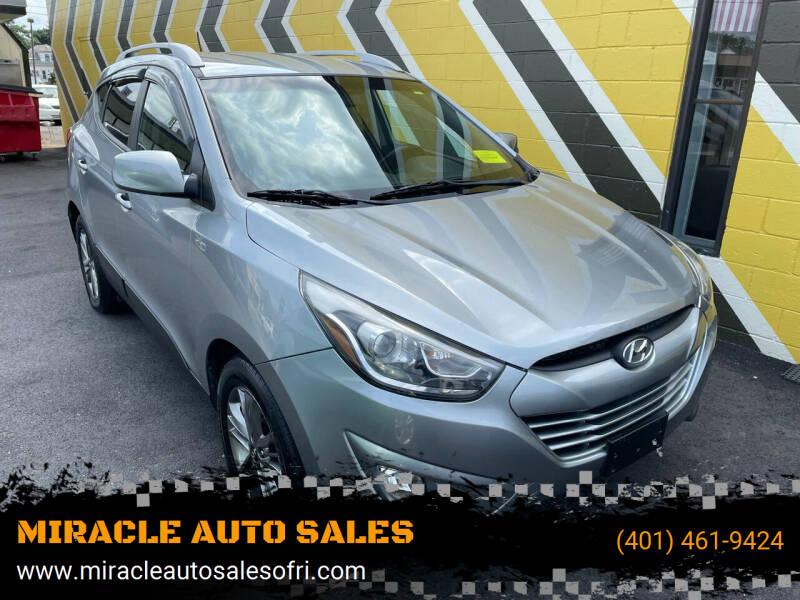 2014 Hyundai Tucson for sale at MIRACLE AUTO SALES in Cranston RI