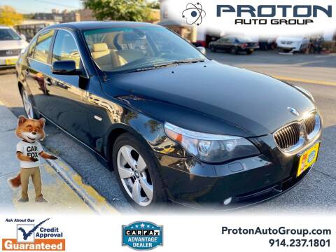 2007 BMW 5 Series for sale at Proton Auto Group in Yonkers NY