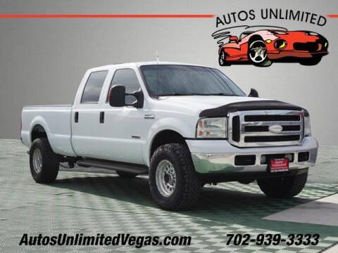 2005 Ford F-350 Super Duty for sale at Autos Unlimited in Las Vegas NV