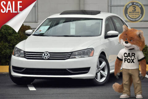 2013 Volkswagen Passat for sale at JDM Auto in Fredericksburg VA
