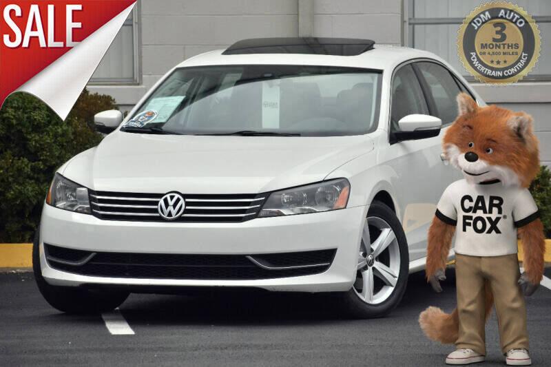 2013 Volkswagen Passat for sale at JDM Auto in Fredericksburg VA