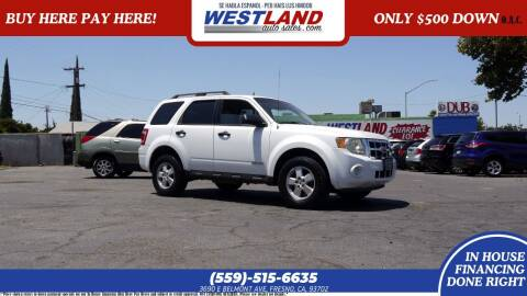 2008 Ford Escape for sale at Westland Auto Sales on 7th in Fresno CA