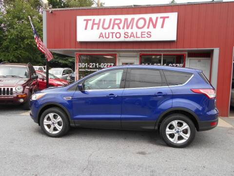 2014 Ford Escape for sale at THURMONT AUTO SALES in Thurmont MD