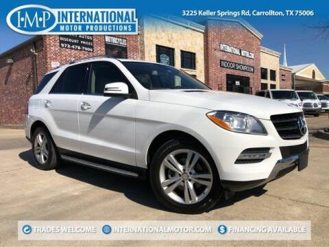 2015 Mercedes-Benz M-Class for sale at International Motor Productions in Carrollton TX