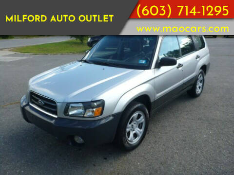 2005 Subaru Forester for sale at Milford Auto Outlet in Milford NH