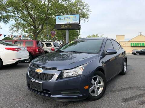 2013 Chevrolet Cruze for sale at All Star Auto Sales and Service LLC in Allentown PA