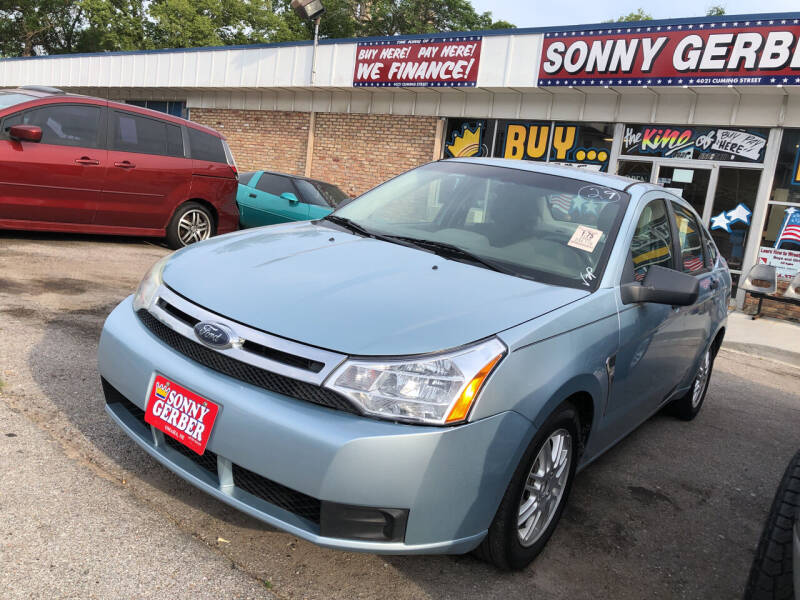 2008 Ford Focus for sale at Sonny Gerber Auto Sales in Omaha NE