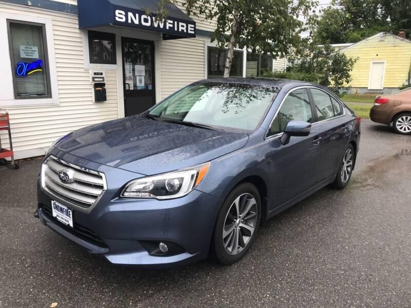 2017 Subaru Legacy for sale at Snowfire Auto in Waterbury VT