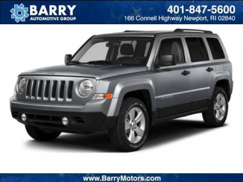 2015 Jeep Patriot for sale at BARRYS Auto Group Inc in Newport RI
