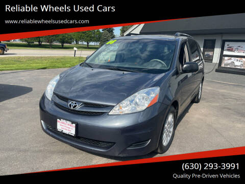 2008 Toyota Sienna for sale at Reliable Wheels Used Cars in West Chicago IL
