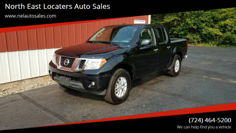 2014 Nissan Frontier for sale at North East Locaters Auto Sales in Indiana PA