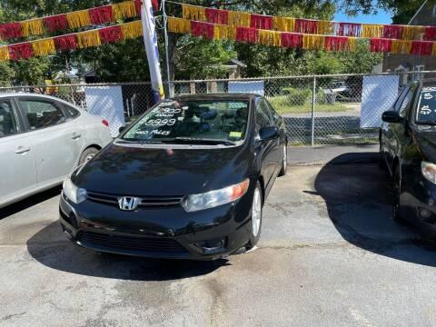 2008 Honda Civic for sale at Chambers Auto Sales LLC in Trenton NJ