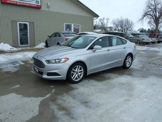 2013 Ford Fusion for sale at Koop's Sales and Service in Vinton IA