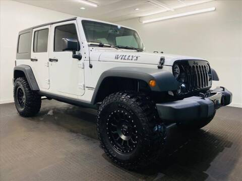 2016 Jeep Wrangler Unlimited for sale at Champagne Motor Car Company in Willimantic CT