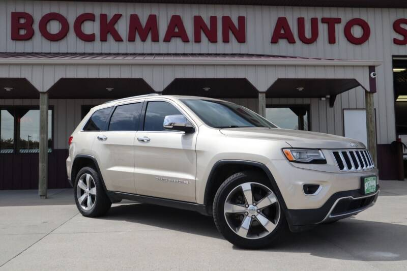 2014 Jeep Grand Cherokee for sale at Bockmann Auto Sales in St. Paul NE