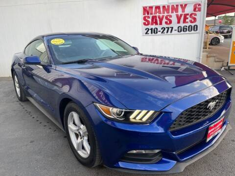 2016 Ford Mustang for sale at Manny G Motors in San Antonio TX