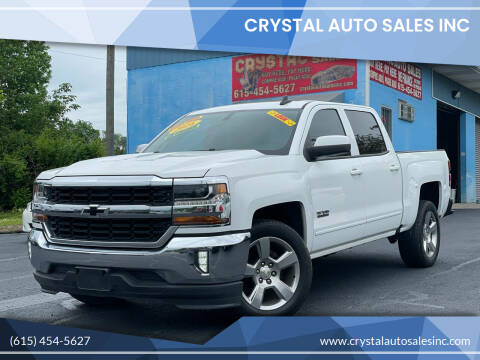 2016 Chevrolet Silverado 1500 for sale at Crystal Auto Sales Inc in Nashville TN