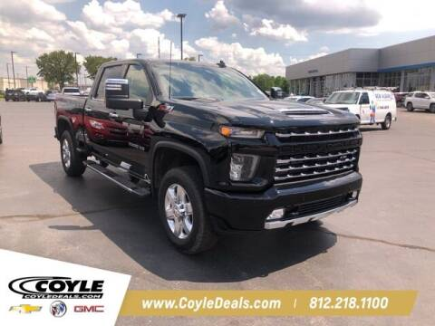 2021 Chevrolet Silverado 2500HD for sale at COYLE GM - COYLE NISSAN - New Inventory in Clarksville IN