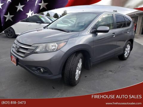 2012 Honda CR-V for sale at Firehouse Auto Sales in Springville UT