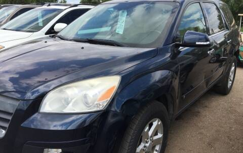 2008 Saturn Outlook for sale at BARNES AUTO SALES in Mandan ND