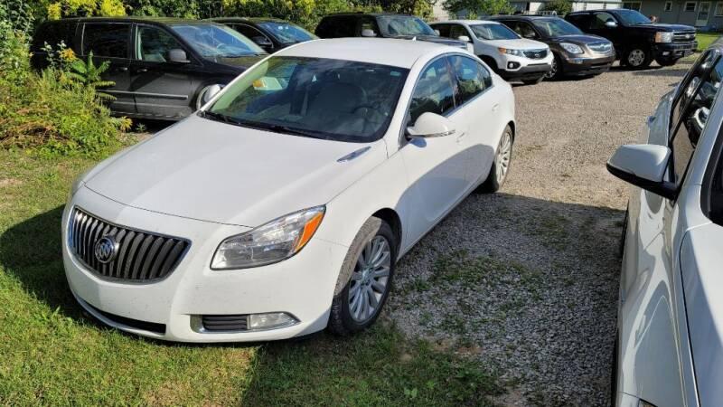 2012 Buick Regal for sale at Clare Auto Sales, Inc. in Clare MI