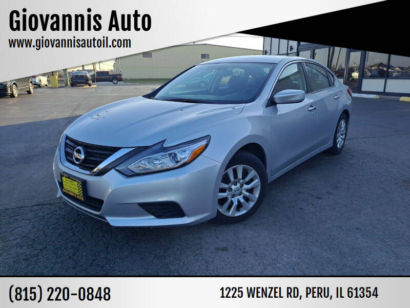 2018 Nissan Altima for sale at Giovannis Auto in Peru IL