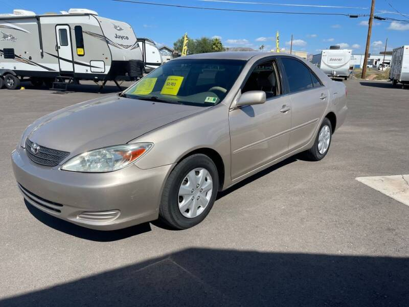 2003 Toyota Camry for sale at Mesa AZ Auto Sales in Apache Junction AZ