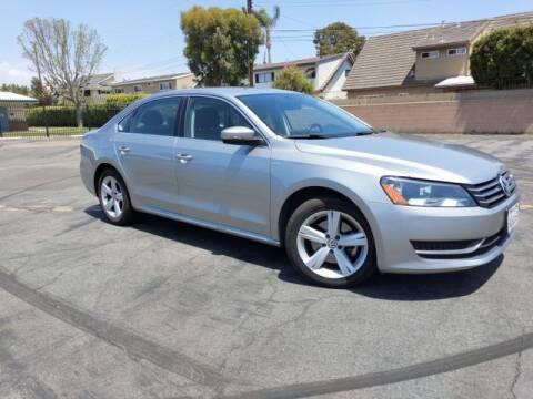 2014 Volkswagen Passat for sale at DNZ Auto Sales in Costa Mesa CA
