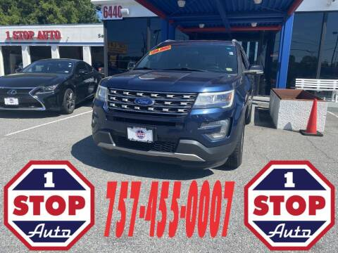 2017 Ford Explorer for sale at 1 Stop Auto in Norfolk VA