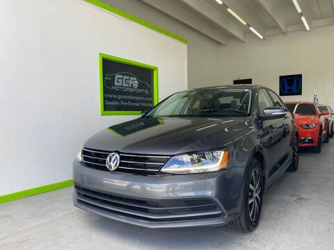 2017 Volkswagen Jetta for sale at GCR MOTORSPORTS in Hollywood FL