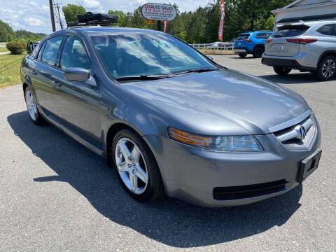2006 Acura TL for sale at CVC AUTO SALES in Durham NC