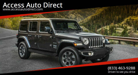 2019 Jeep Wrangler Unlimited for sale at Access Auto Direct in Baldwin NY