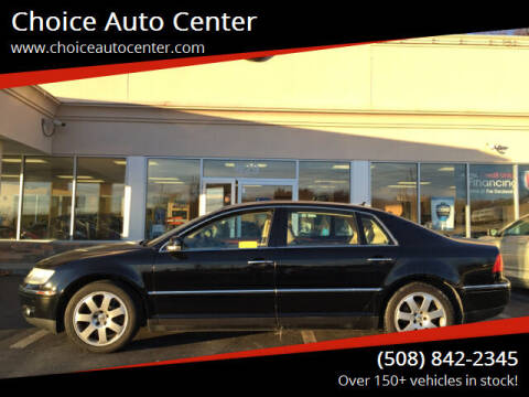 2004 Volkswagen Phaeton for sale at Choice Auto Center in Shrewsbury MA