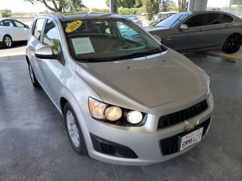 2014 Chevrolet Sonic for sale at Sac River Auto in Davis CA