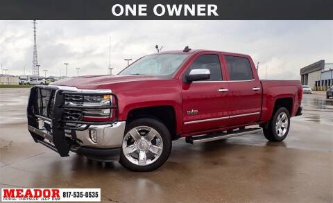 2018 Chevrolet Silverado 1500 for sale at Meador Dodge Chrysler Jeep RAM in Fort Worth TX