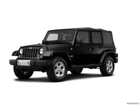 2014 Jeep Wrangler Unlimited for sale at Bald Hill Kia in Warwick RI