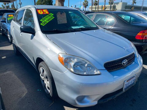 2005 Toyota Matrix for sale at North County Auto in Oceanside CA