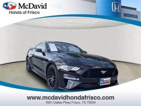 2019 Ford Mustang for sale at DAVID McDAVID HONDA OF IRVING in Irving TX
