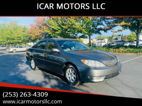 2005 Toyota Camry for sale at ICAR MOTORS LLC in Federal Way WA