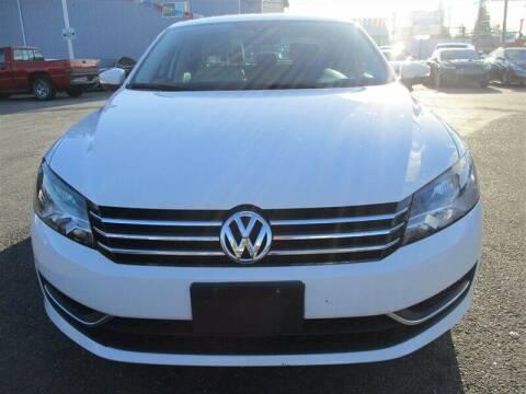 2014 Volkswagen Passat for sale at GMA Of Everett in Everett WA