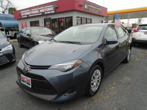 2017 Toyota Corolla for sale at International Motors in Laurel MD