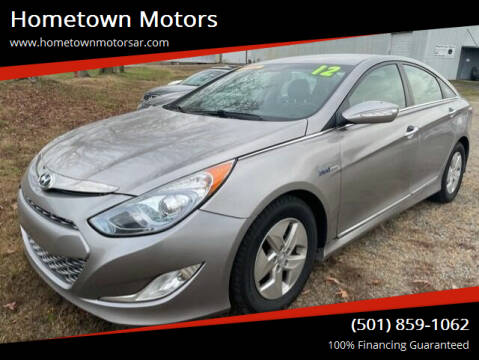 2012 Hyundai Sonata Hybrid for sale at Hometown Motors in Jacksonville AR