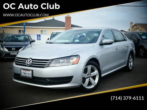 2012 Volkswagen Passat for sale at OC Auto Club in Midway City CA
