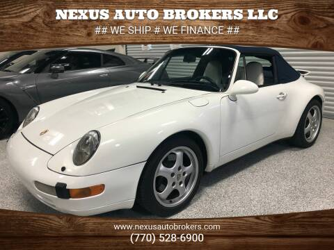 1995 Porsche 911 for sale at Nexus Auto Brokers LLC in Marietta GA