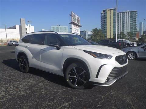 2021 Toyota Highlander for sale at BEAMAN TOYOTA GMC BUICK in Nashville TN