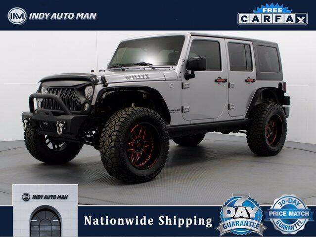 2017 Jeep Wrangler Unlimited for sale in Indianapolis, IN