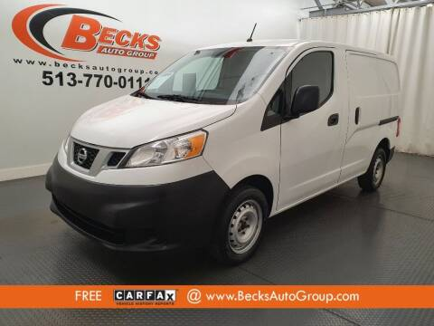 2015 Nissan NV200 for sale at Becks Auto Group in Mason OH